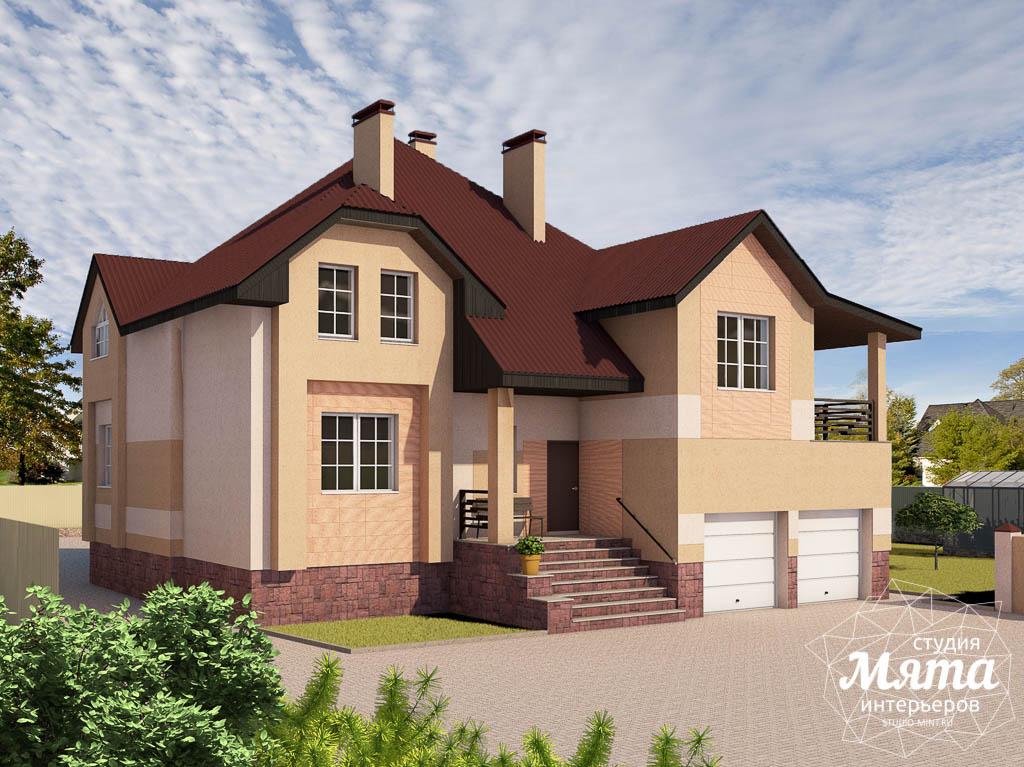 Дизайн проект фасада дома 215 м2 в п. Санаторный img1885209245
