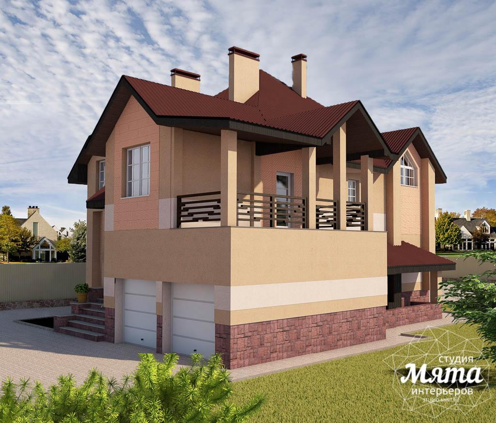 Дизайн проект фасада дома 215 м2 в п. Санаторный img1697028446