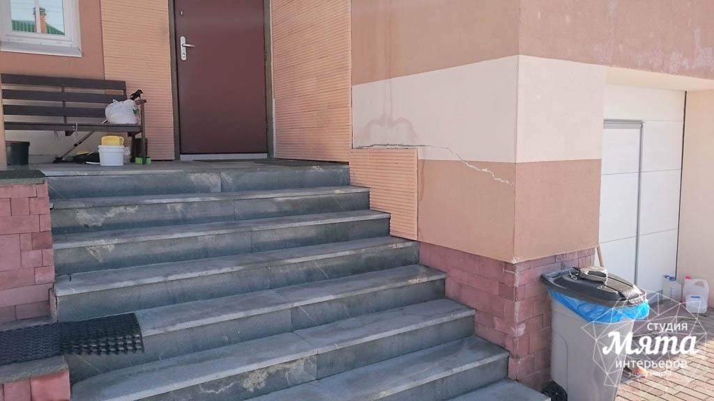 Дизайн проект фасада дома 215 м2 в п. Санаторный 30