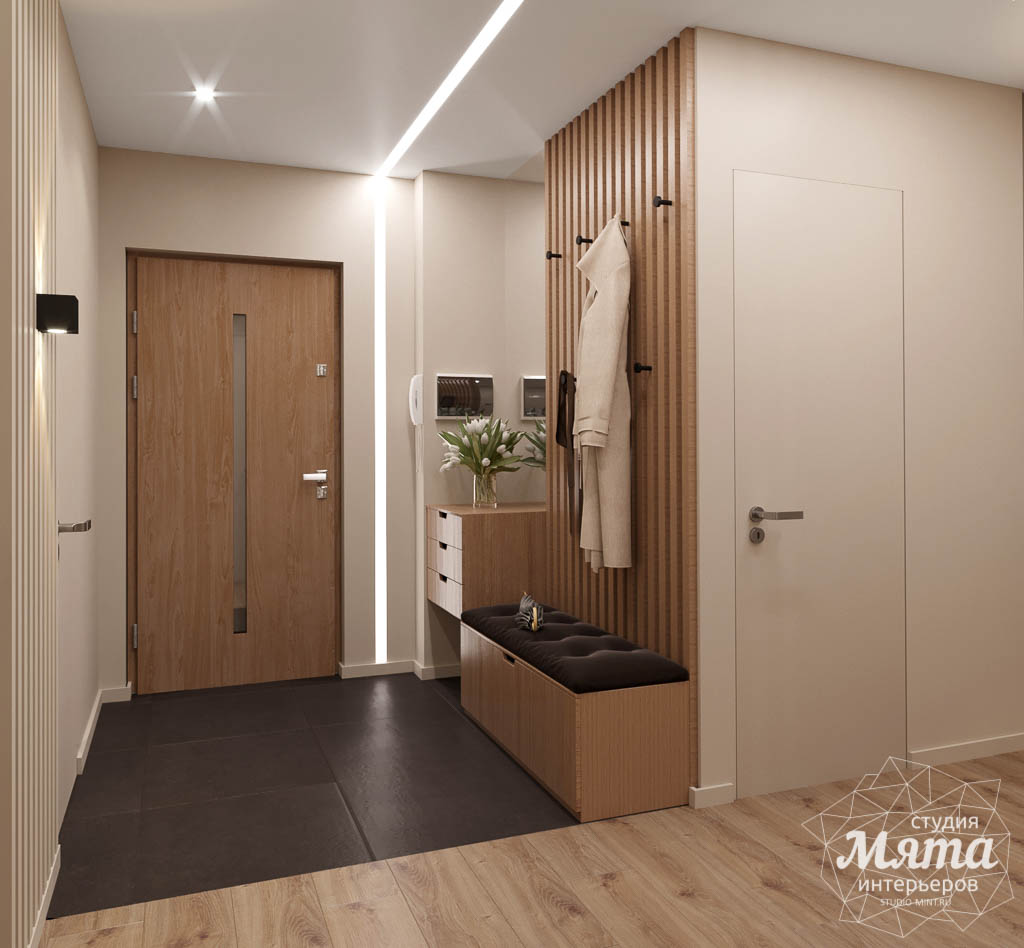 Дизайн интерьера двухкомнатной квартиры в ЖК Расточная img1261897630