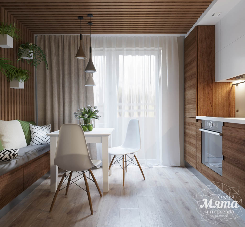 Дизайн интерьера двухкомнатной квартиры в ЖК Расточная img1119941337