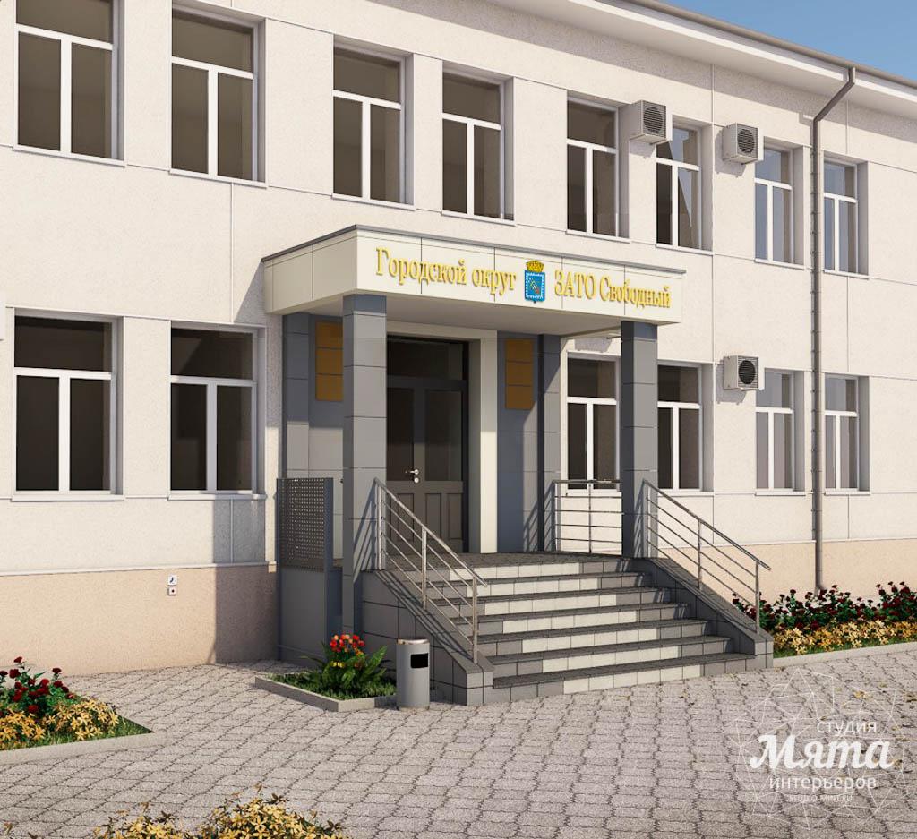 Дизайн-проект входной группы Муниципального учреждения п. Свободный img277443224