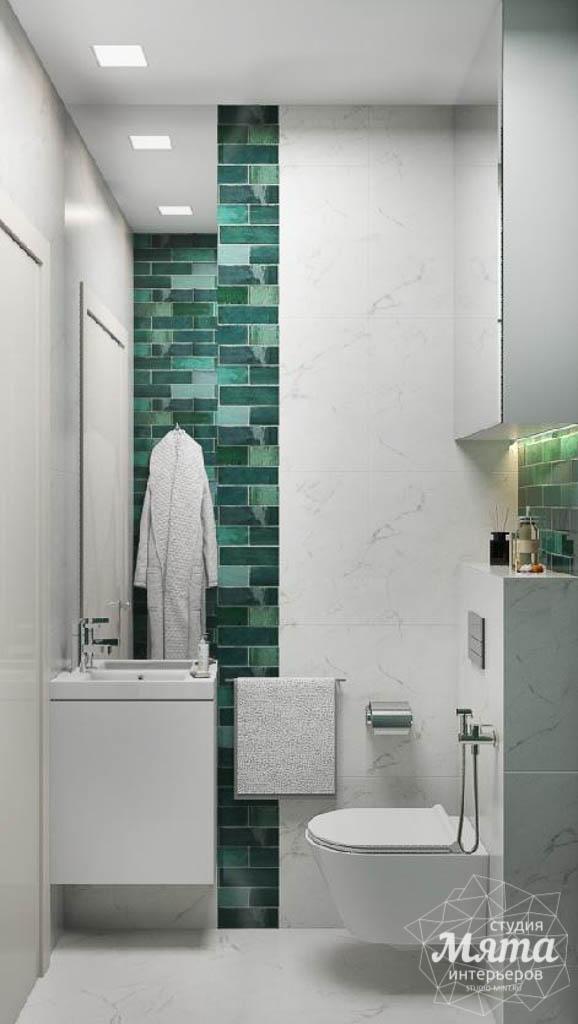 Дизайн интерьера гостиной и санузлов четырехкомнатной квартиры в ЖК Флагман img237739478