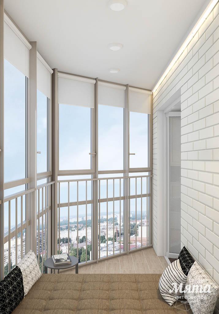 Дизайн интерьера гостиной и санузлов четырехкомнатной квартиры в ЖК Флагман img922381945