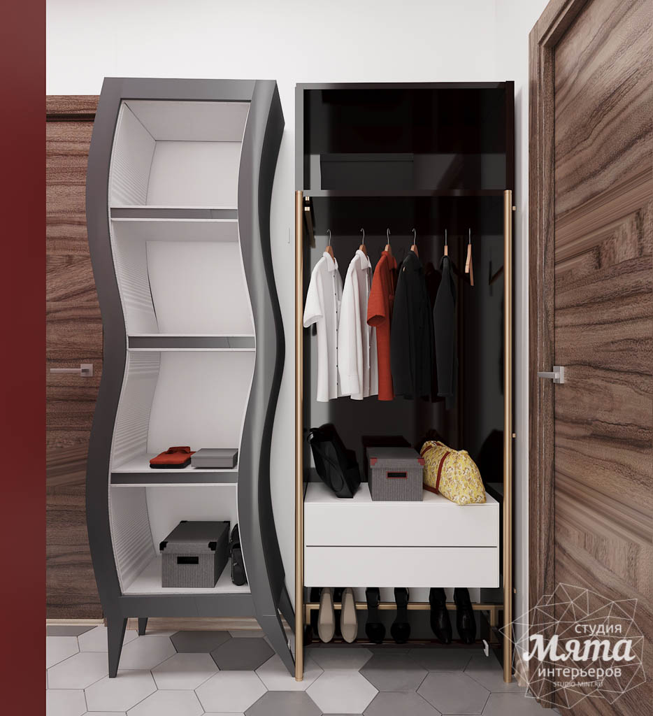 Дизайн интерьера однокомнатной квартиры по ул. Металлургов 14 img943693562