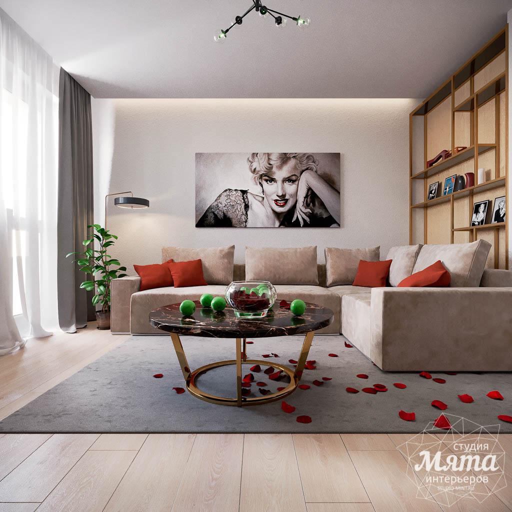 Дизайн интерьера однокомнатной квартиры по ул. Металлургов 14 img1270569864
