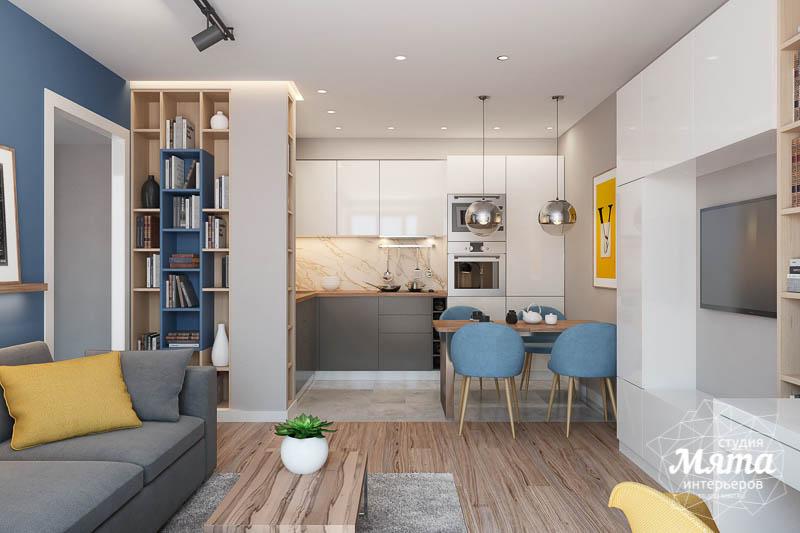 Дизайн интерьера двухкомнатной квартиры в ЖК Солнечный img1022573410