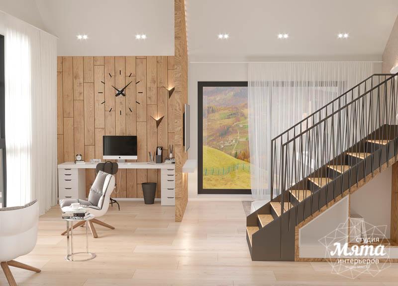 Дизайн интерьера гостиной в коттедже в г. Алапаевск img1663970662