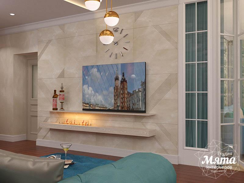 Дизайн интерьера квартиры в стиле современной классики в ЖК Вивальди img1417831685