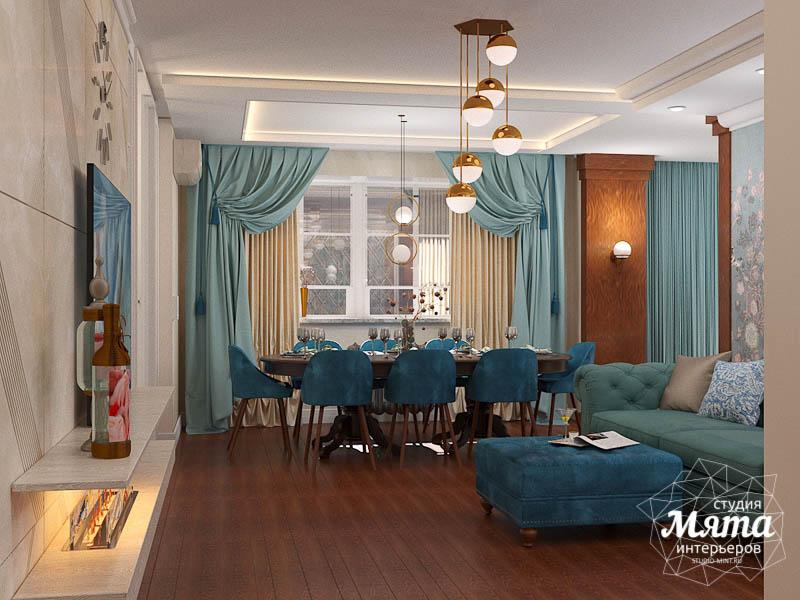 Дизайн интерьера квартиры в стиле современной классики в ЖК Вивальди img818240083