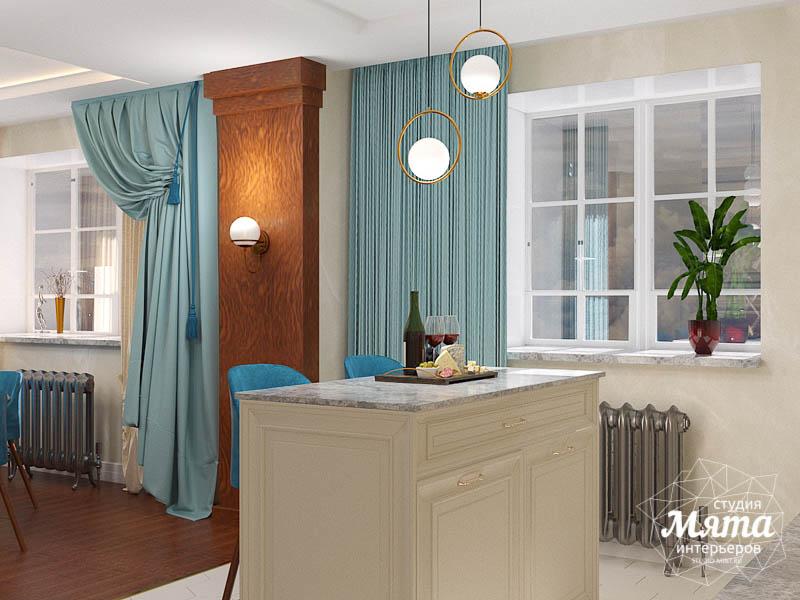 Дизайн интерьера квартиры в стиле современной классики в ЖК Вивальди img1127996075