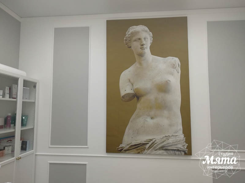 Дизайн интерьера и ремонт салона красоты в ЖК Флагман 24