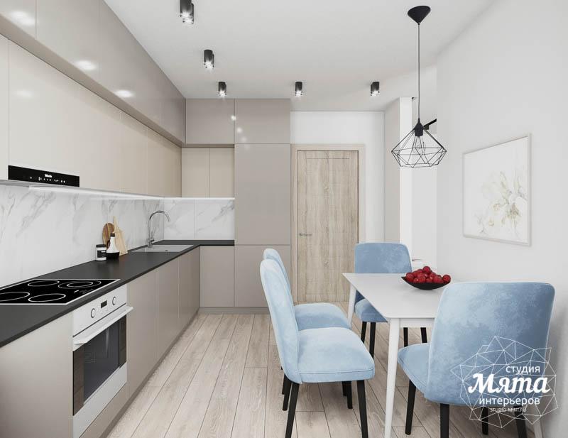 Дизайн интерьера трехкомнатной квартиры в ЖК Дом у пруда ... img2131576689