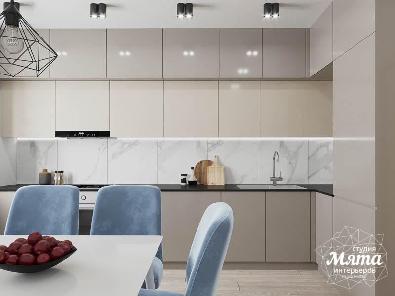 Дизайн интерьера трехкомнатной квартиры в ЖК Дом у пруда ... img179314915