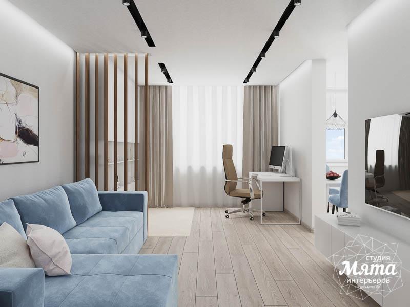 Дизайн интерьера трехкомнатной квартиры в ЖК Дом у пруда ... img618553895