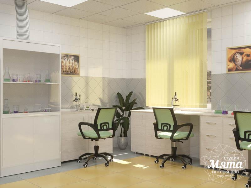 Дизайн интерьера ветеринарной станции г. Екатеринбурга img899712329