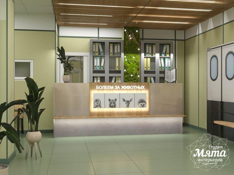 Дизайн интерьера ветеринарной станции г. Екатеринбурга img277698253