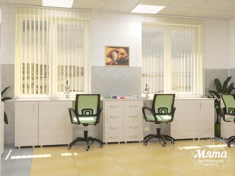 Дизайн интерьера ветеринарной станции г. Екатеринбурга img536773125