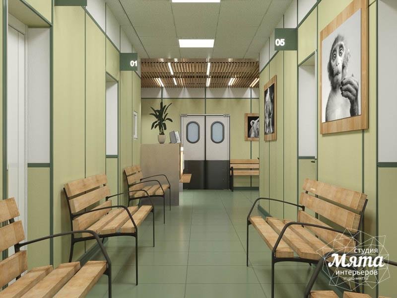Дизайн интерьера ветеринарной станции г. Екатеринбурга img5307465