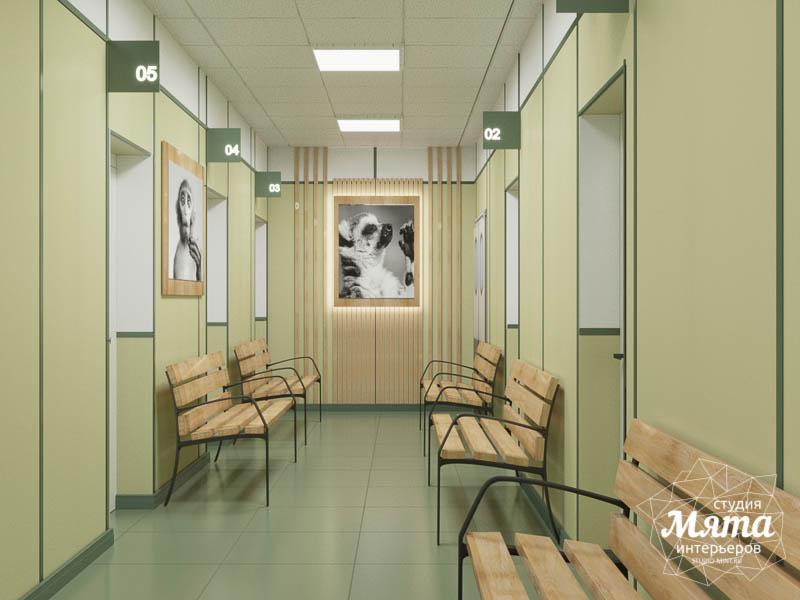 Дизайн интерьера ветеринарной станции г. Екатеринбурга img921269479
