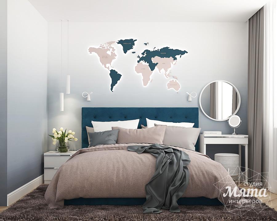 Дизайн интерьера двухкомнатной квартиры ЖК Лучи в Москве img750378413
