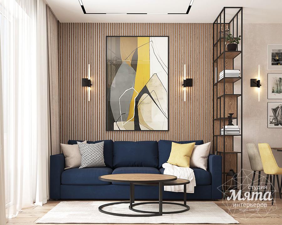 Дизайн интерьера трехкомнатной квартиры ЖК Клевер Парк img764559233