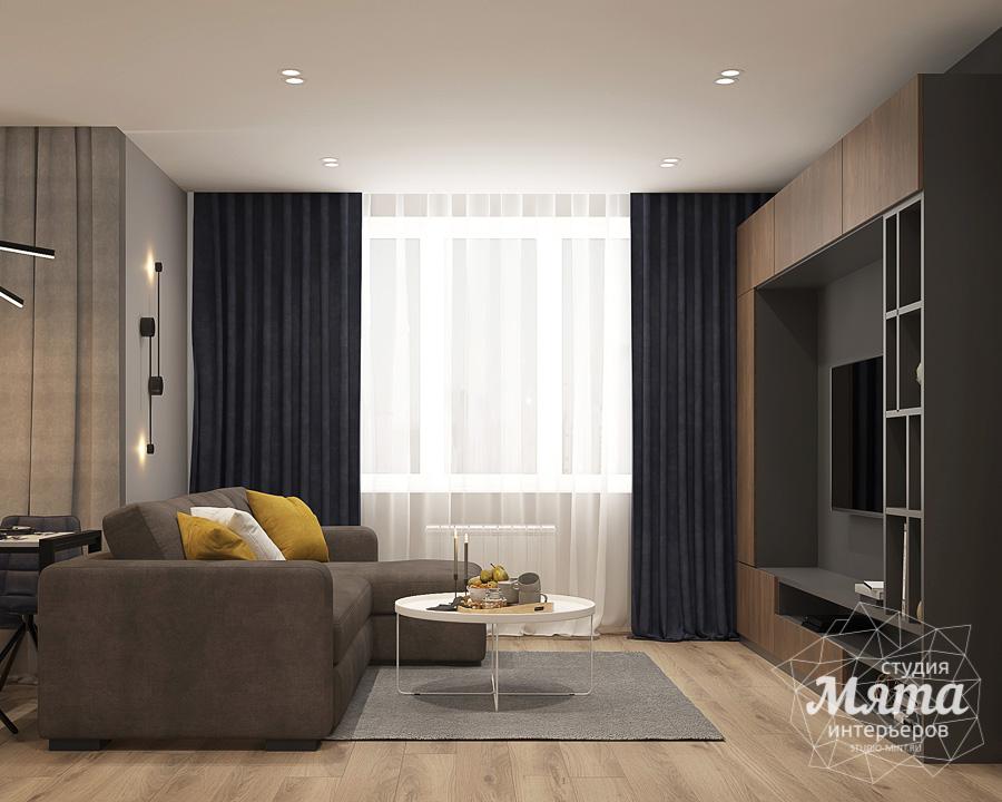 Дизайн интерьера трехкомнатной квартиры ЖК Близкий img2144912809