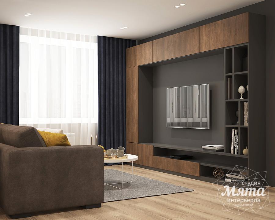 Дизайн интерьера трехкомнатной квартиры ЖК Близкий img1546185043