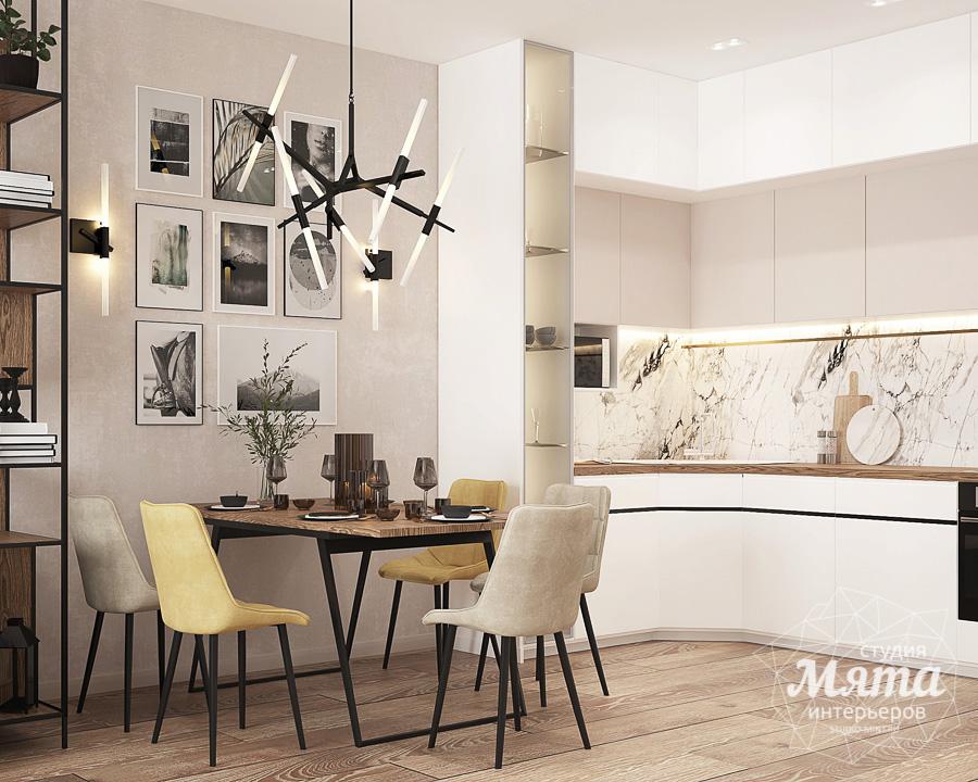 Дизайн интерьера трехкомнатной квартиры ЖК Клевер Парк img878727640