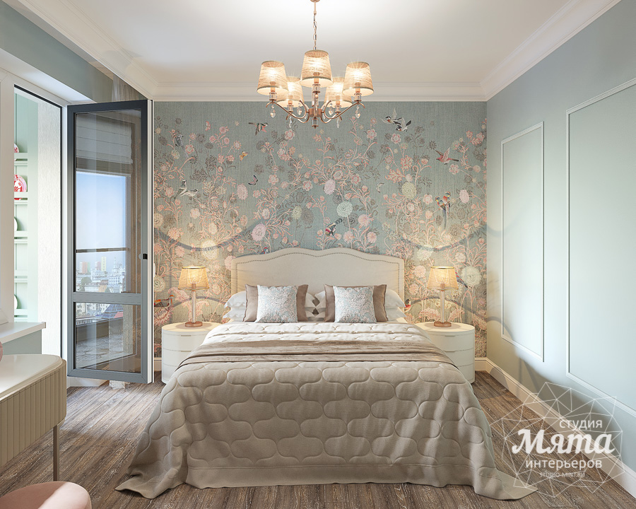 Дизайн интерьера двухкомнатной квартиры ЖК Ольховский парк img97407250