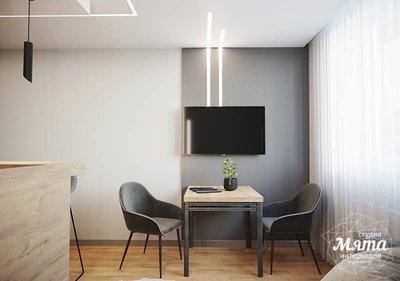 Дизайн интерьера однокомнатной квартиры в ЖК Оазис img212208178