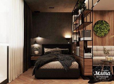 Дизайн интерьера квартиры - студии в ЖК Гринвуд img1008201928