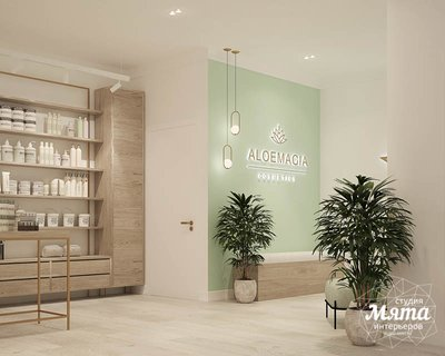 Дизайн интерьера магазина корейской косметики img1201384866