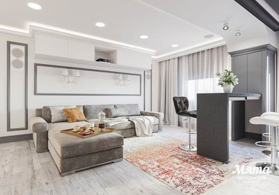 Дизайн интерьера домашнего кинотеатра в коттедже п. Кашино img1919924186