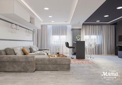 Дизайн интерьера домашнего кинотеатра в коттедже п. Кашино img1629848300