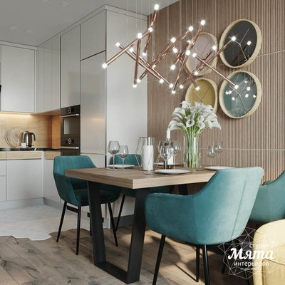 Дизайн интерьера двухкомнатной квартиры в ЖК Репин Парк img629162114