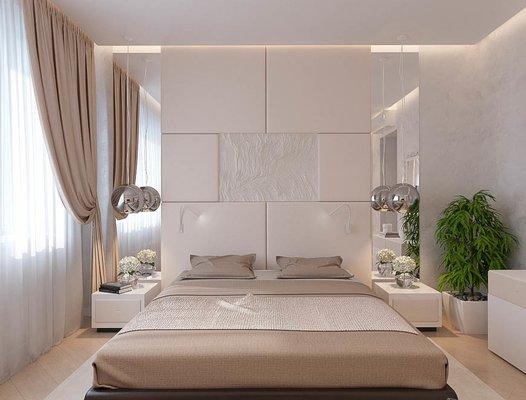 Дизайн интерьера однокомнатной квартиры в ЖК Крылов (1 очередь)