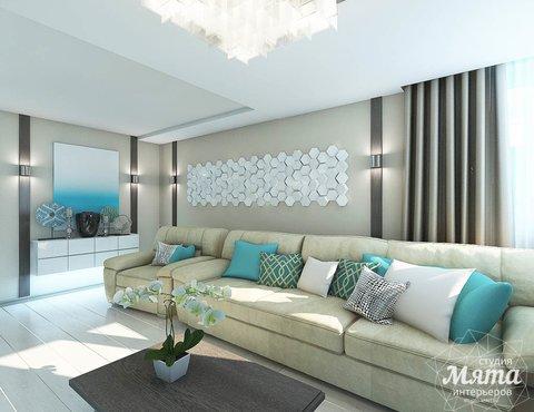 Дизайн интерьера двухкомнатной квартиры в Верхней Пышме по Успенскому проспекту 113Б