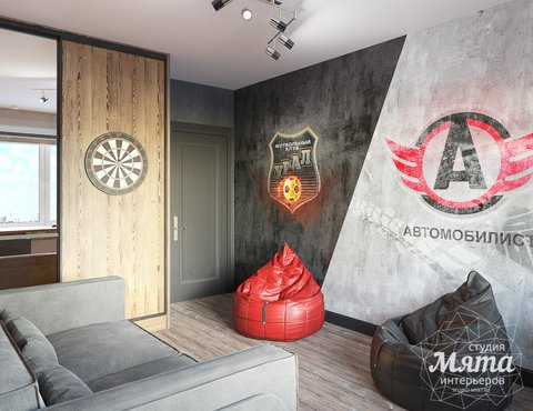 Дизайн интерьера детской комнаты ЖК Ольховский парк