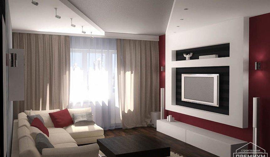 Дизайн интерьера однокомнатной квартиры по ул. Сыромолотова 11 6