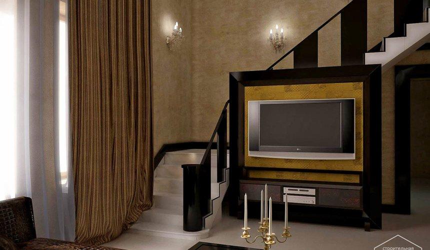 Дизайн интерьера коттеджа в п. Н. Рассоха 3
