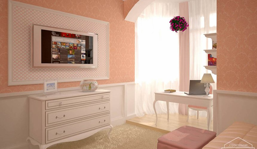 Дизайн интерьера коттеджа в п. Н. Рассоха 13