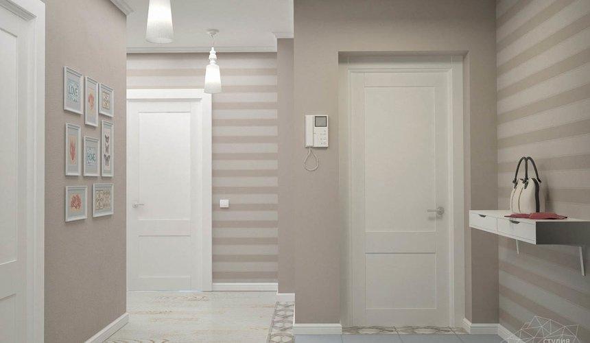 Дизайн интерьера и ремонт трехкомнатной квартиры по ул. Фучика 9 82