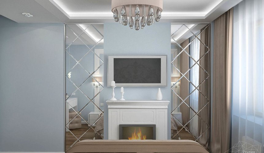 Дизайн интерьера и ремонт трехкомнатной квартиры по ул. Фучика 9 87