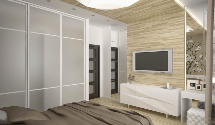 Дизайн интерьера трехкомнатной квартиры по ул. Папанина 18 15