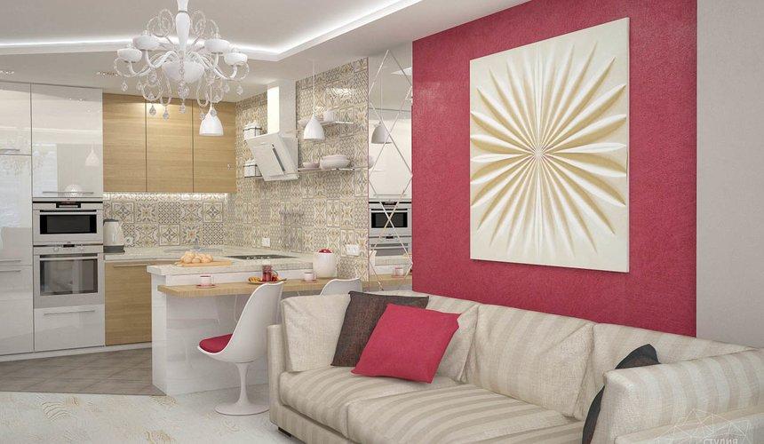 Дизайн интерьера и ремонт трехкомнатной квартиры по ул. Фучика 9 79