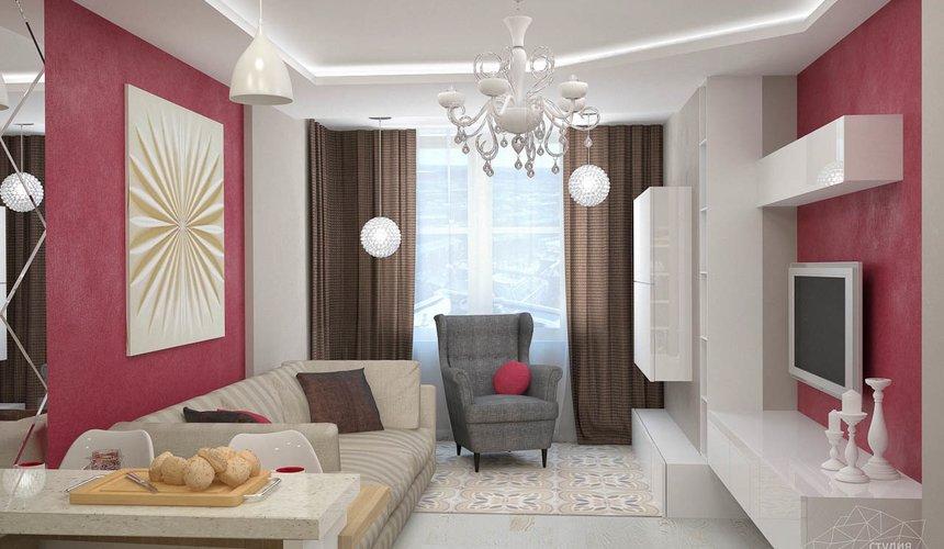 Дизайн интерьера и ремонт трехкомнатной квартиры по ул. Фучика 9 80