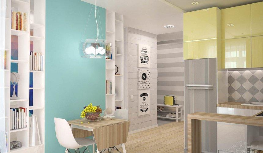 Дизайн интерьера и ремонт однокомнатной квартиры по ул. Сурикова 53а 69