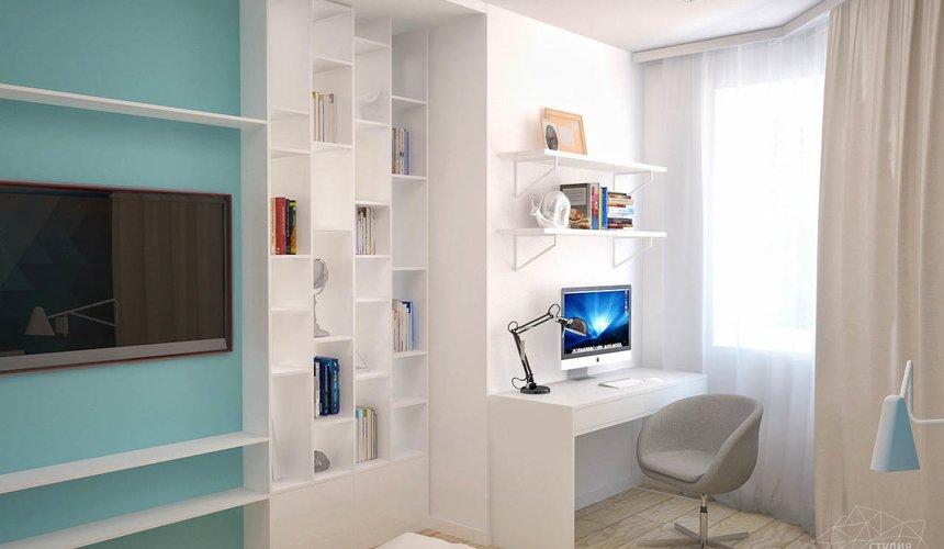 Дизайн интерьера и ремонт однокомнатной квартиры по ул. Сурикова 53а 74