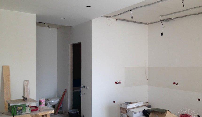 Дизайн интерьера и ремонт однокомнатной квартиры по ул. Сурикова 53а 41